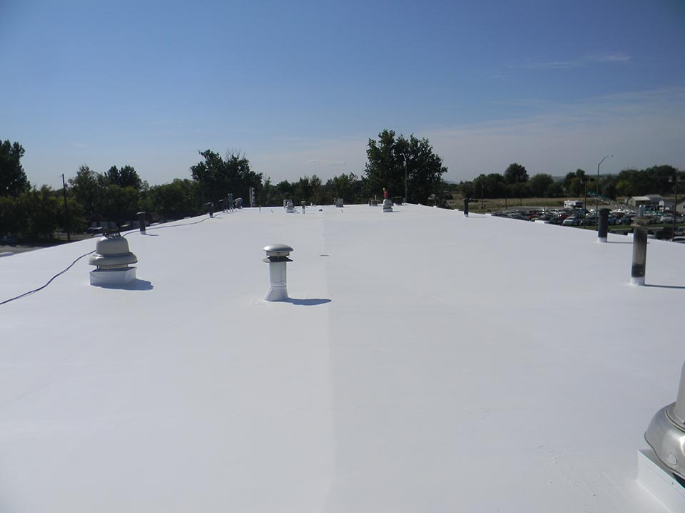 Picture of White Elastomeric Roof Coating