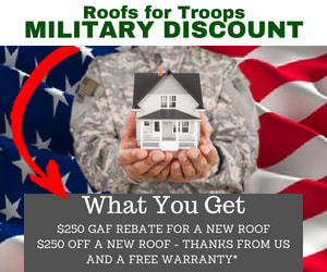 Portsmouth Roofing Company w Military Discounts